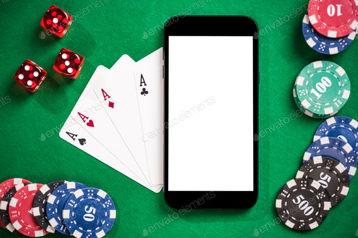 Mock up and template for on line casino and poker