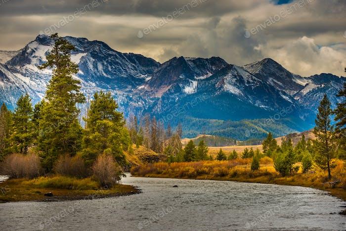 Salmon River Lower Stanley Idaho