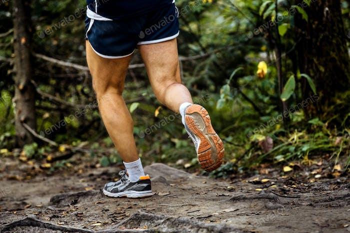Mann Laufen Marathon