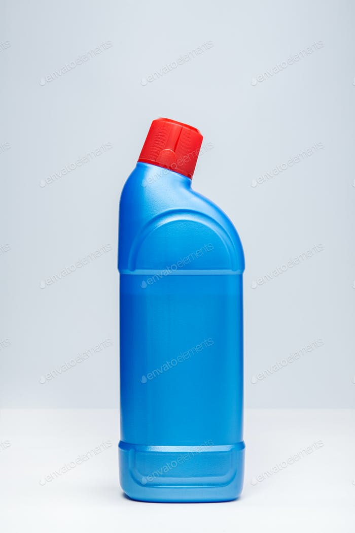WC cleaner bottle