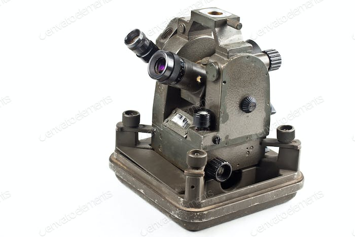 small dusty theodolite