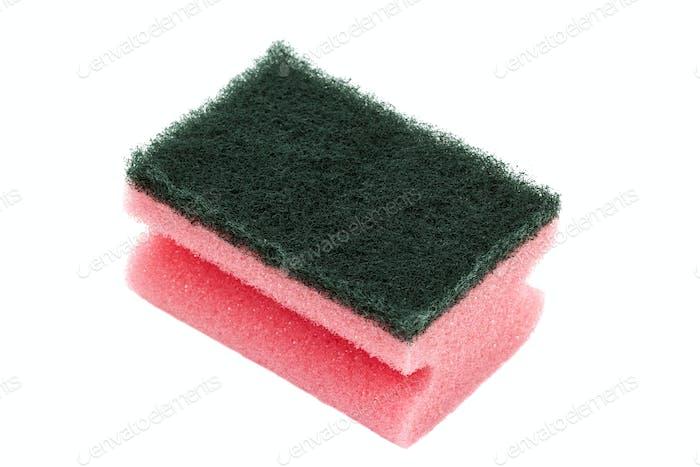 Kitchen dish sponge
