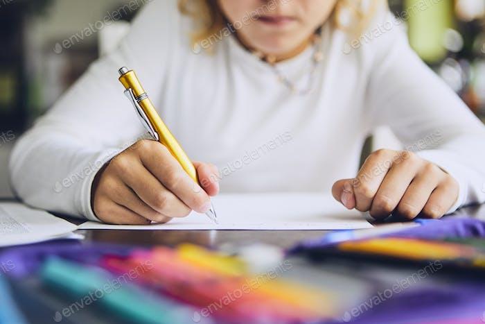 Hausaufgaben für die Grundschule