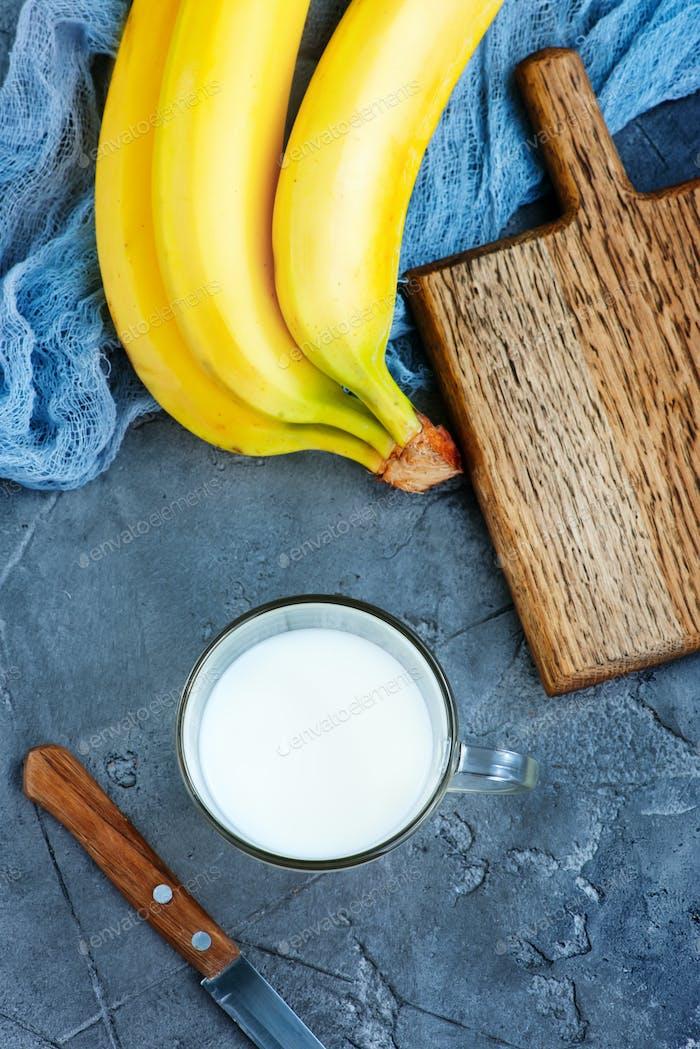 Bananenmilch