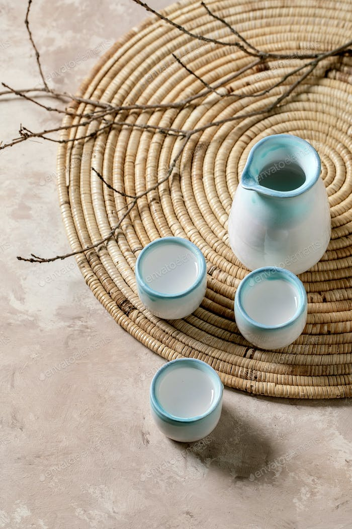 Sake ceramic set