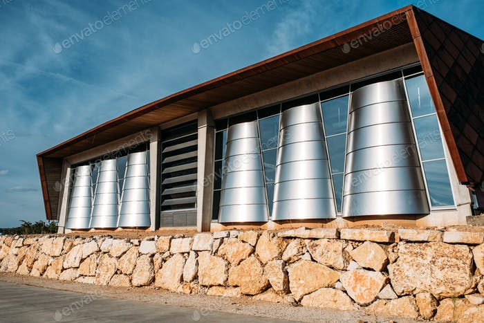 Amazing winery architecture