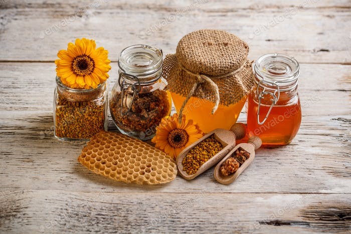 Composition of honey