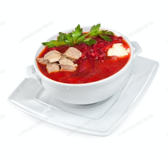 borscht - beet soup