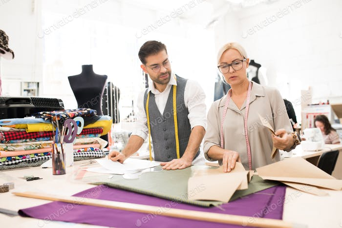 Professional Tailors in Atelier