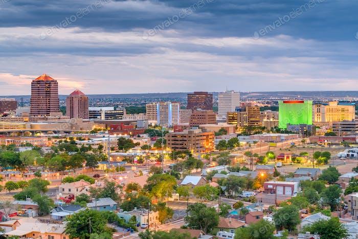 Albuquerque, New Mexico, USA Cityscape