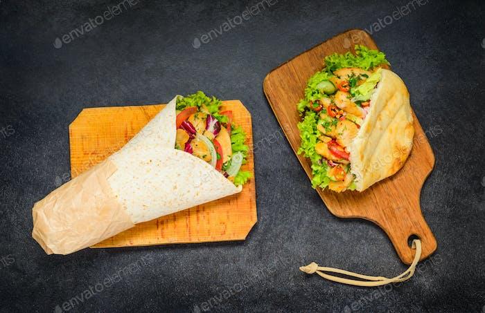 Shawarma and Doner Kebab