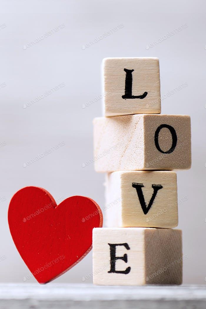 Love message.