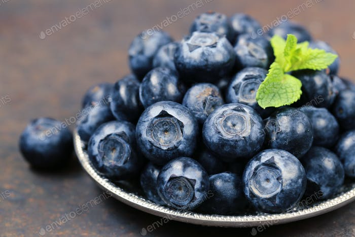 Organic Blueberries Berry