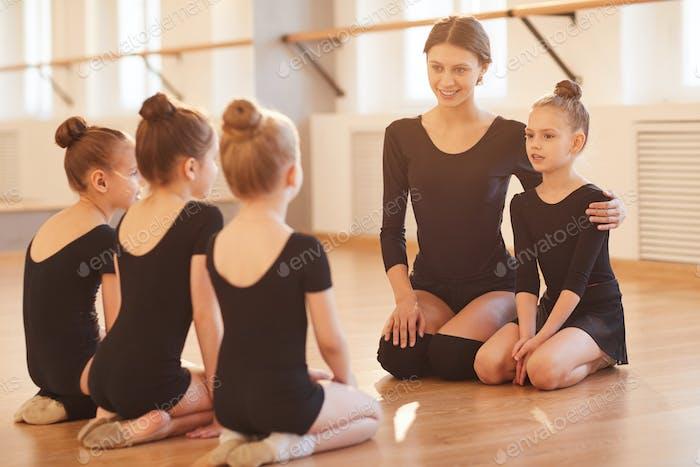 Children in Ballet Class