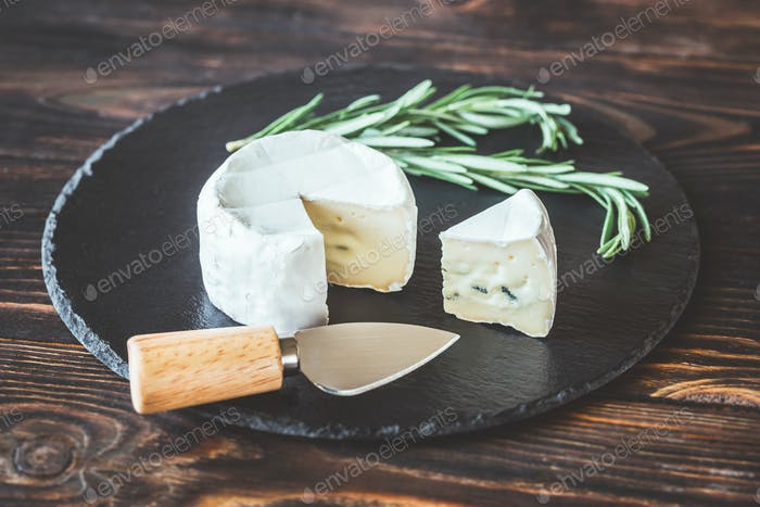 Cambozola cheese close-up