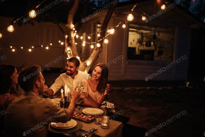 Open air dinner