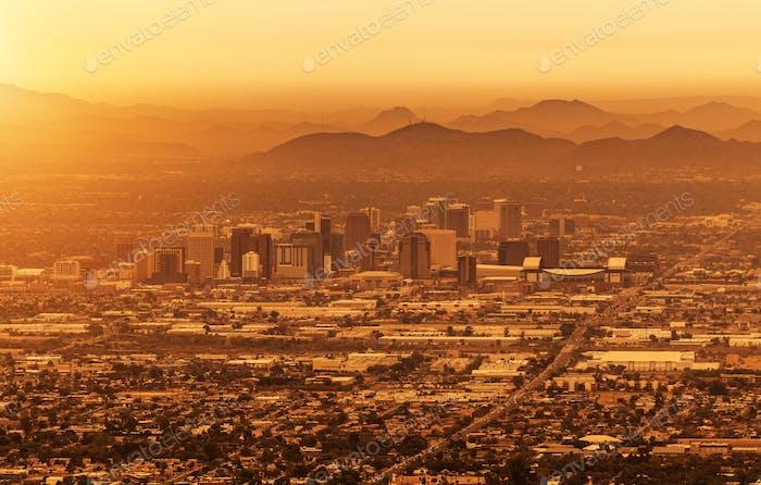 Phoenix Arizona Stadtbild