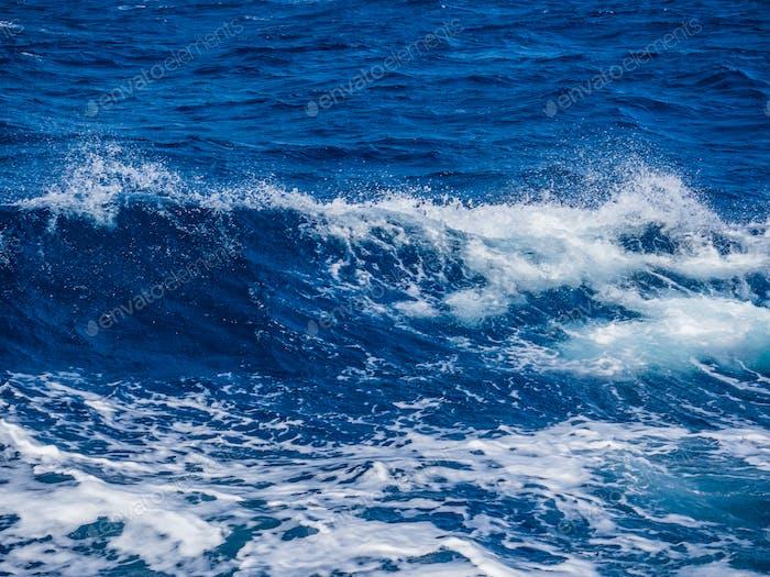 Ocean Wave. Natural background