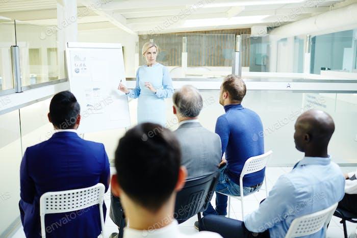 Schulung für Führungskräfte