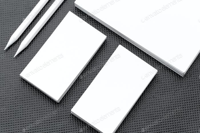 Mock-up for branding identity. For design presentations