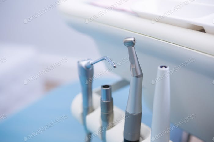 Dental equipments at medical clinic