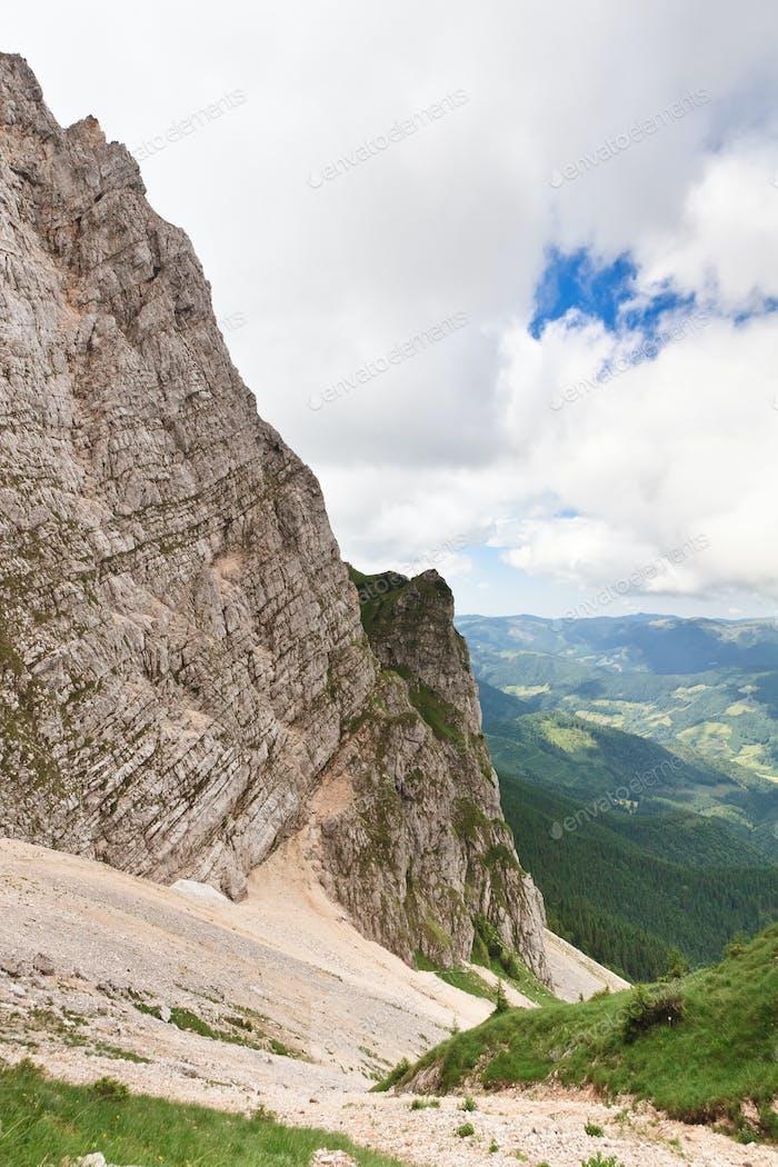 pendiente de montaña