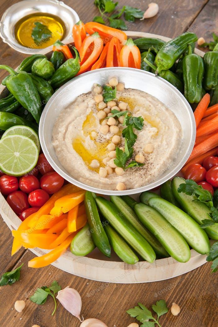 Hausgemachter Hummus