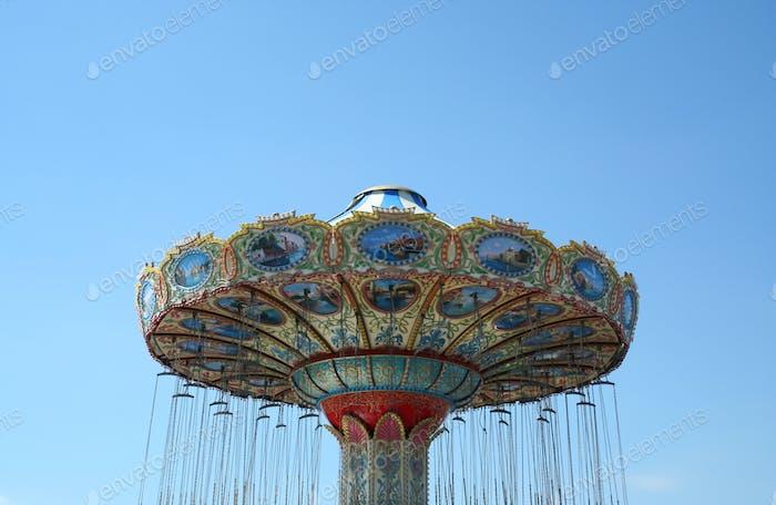 Swing ride at the boardwalk