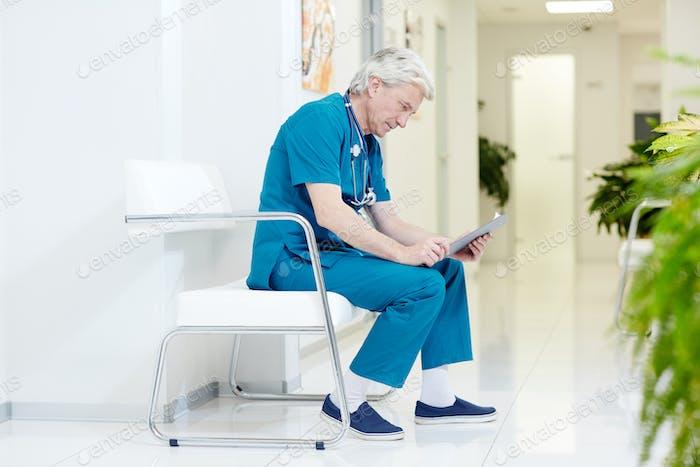 Surgeon at hospital