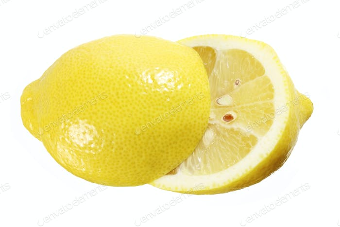 Halves of Lemon