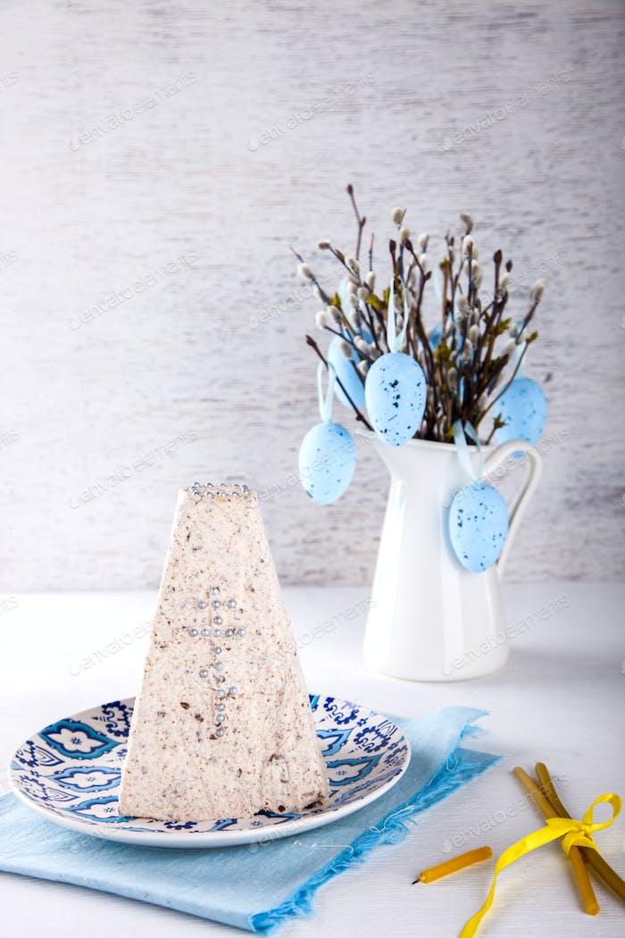 Easter festive traditional dessert
