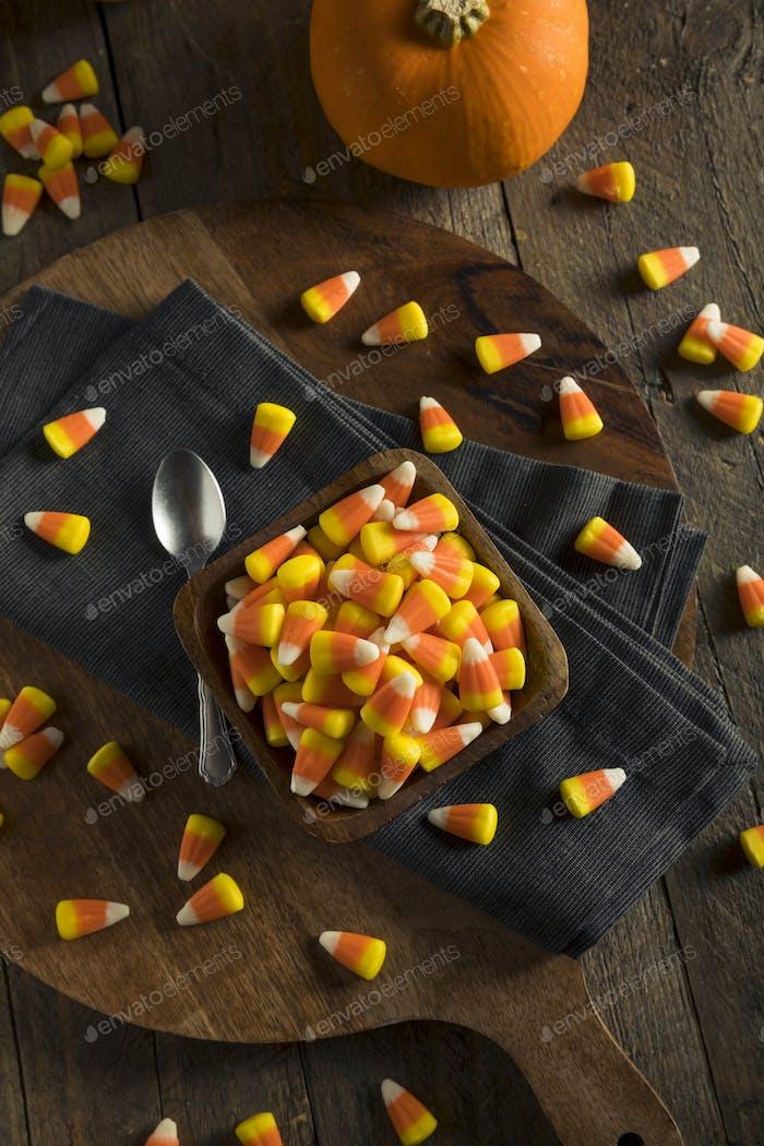 Süße und zuckerhaltige Süßigkeiten Mais Leckereien