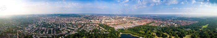 Stadt Bremen Luftaufnahme FPV Drohne Fotografie.. Breme