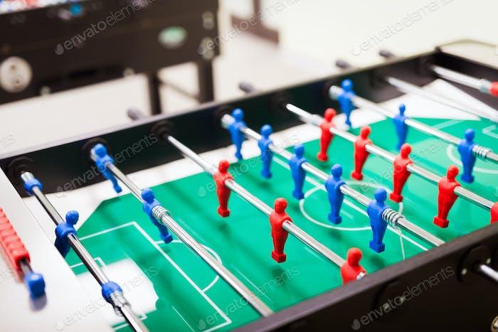 El fútbol de mesa es otra actividad de grupo