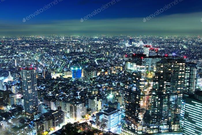 Toyko cityscape