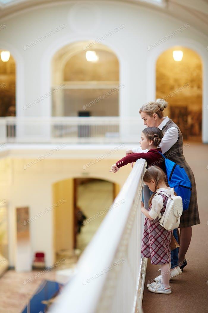 Exkursion im Museum