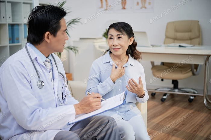 Senior Patient Visiting Physician