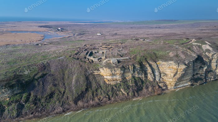 Argamum (Organe) fortress ruins, Romania