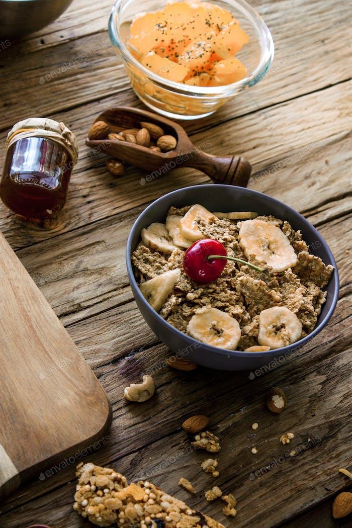 Cereals breakfast