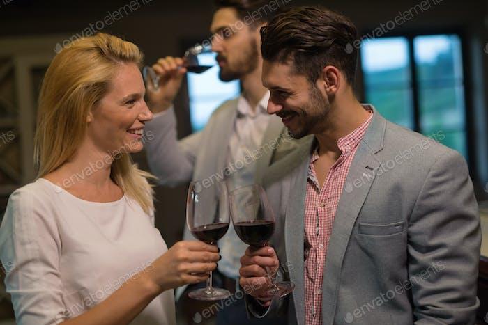 Wine tasting even