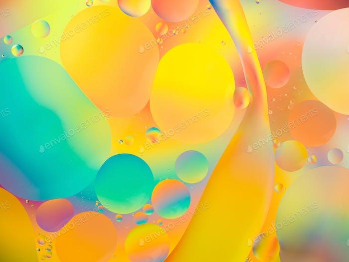 abstrakter Hintergrund mit lebendigen Farben