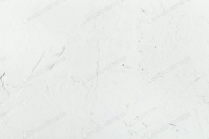 weiße Gipswand Nahaufnahme