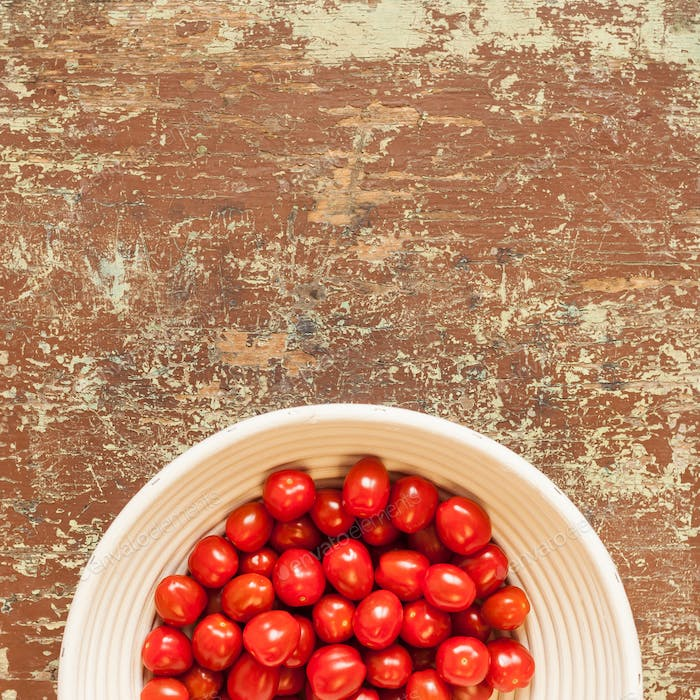 Healthy tomatoes nutrition background