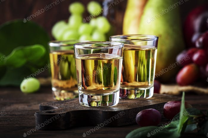 Rakija, raki or rakia - Balkan hard alcoholic drink