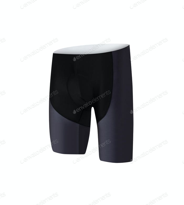 Sport shorts isolated on white
