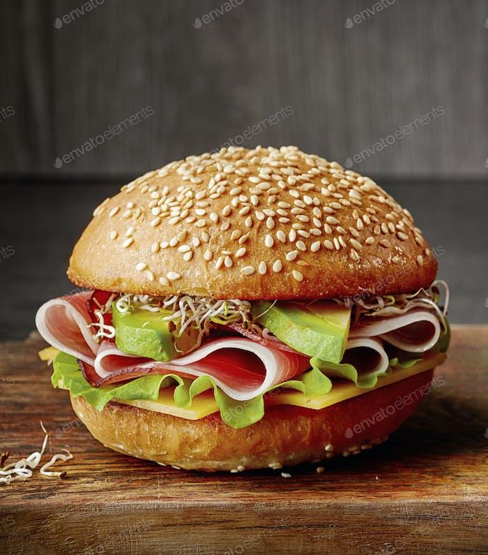 fresh breakfast sandwich