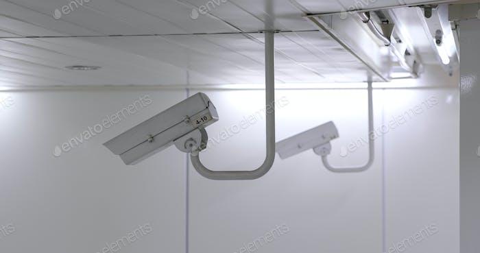 Security camera concept surveillance