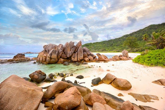 Anse Cocos beach