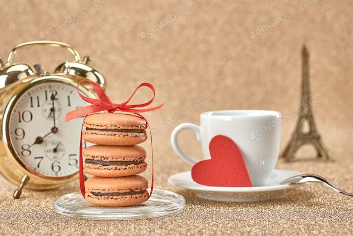 Love, macarons