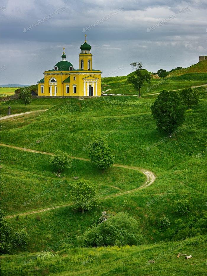 Church of Alexander Nevsky in Khotyn, Ukraine